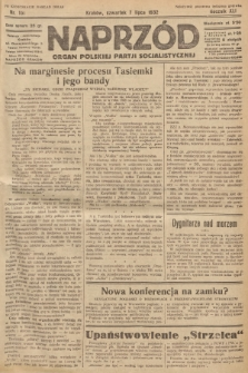 Naprzód : organ Polskiej Partji Socjalistycznej. 1932, nr151 (po konfiskacie nakład drugi)