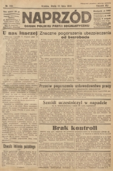 Naprzód : organ Polskiej Partji Socjalistycznej. 1932, nr156