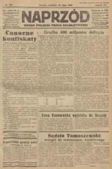 Naprzód : organ Polskiej Partji Socjalistycznej. 1932, nr166