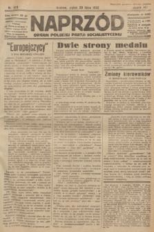 Naprzód : organ Polskiej Partji Socjalistycznej. 1932, nr170