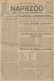 Naprzód : organ Polskiej Partji Socjalistycznej. 1932, nr174