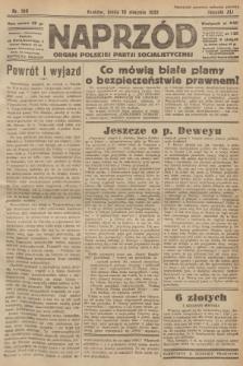 Naprzód : organ Polskiej Partji Socjalistycznej. 1932, nr180