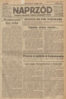 Naprzód : organ Polskiej Partji Socjalistycznej. 1932, nr185