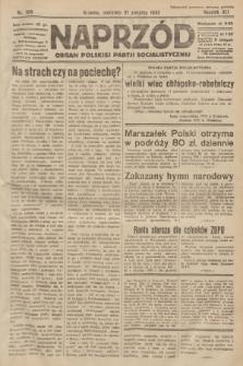 Naprzód : organ Polskiej Partji Socjalistycznej. 1932, nr189