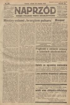 Naprzód : organ Polskiej Partji Socjalistycznej. 1932, nr190