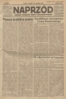 Naprzód : organ Polskiej Partji Socjalistycznej. 1932, nr194