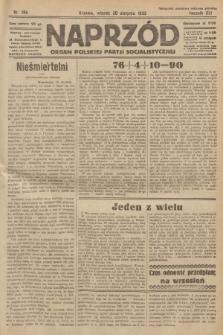 Naprzód : organ Polskiej Partji Socjalistycznej. 1932, nr196