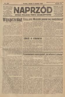 Naprzód : organ Polskiej Partji Socjalistycznej. 1932, nr202