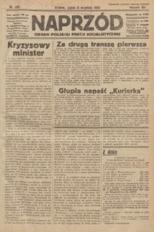 Naprzód : organ Polskiej Partji Socjalistycznej. 1932, nr205