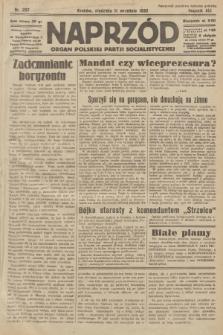 Naprzód : organ Polskiej Partji Socjalistycznej. 1932, nr207