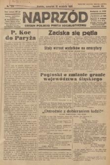 Naprzód : organ Polskiej Partji Socjalistycznej. 1932, nr210