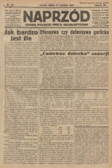 Naprzód : organ Polskiej Partji Socjalistycznej. 1932, nr212