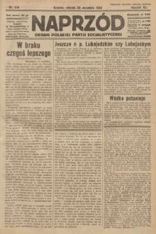 Naprzód : organ Polskiej Partji Socjalistycznej. 1932, nr214