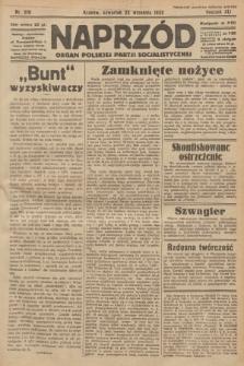 Naprzód : organ Polskiej Partji Socjalistycznej. 1932, nr216