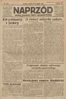 Naprzód : organ Polskiej Partji Socjalistycznej. 1932, nr220