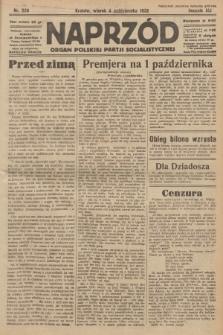 Naprzód : organ Polskiej Partji Socjalistycznej. 1932, nr226
