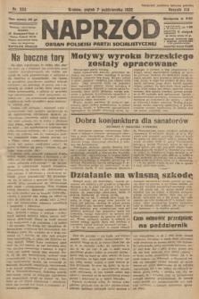 Naprzód : organ Polskiej Partji Socjalistycznej. 1932, nr229