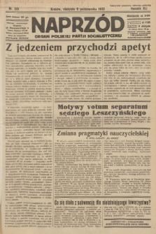 Naprzód : organ Polskiej Partji Socjalistycznej. 1932, nr231