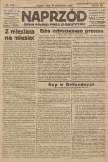 Naprzód : organ Polskiej Partji Socjalistycznej. 1932, nr239