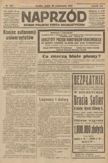 Naprzód : organ Polskiej Partji Socjalistycznej. 1932, nr247