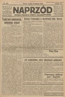 Naprzód : organ Polskiej Partji Socjalistycznej. 1932, nr255