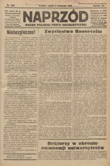 Naprzód : organ Polskiej Partji Socjalistycznej. 1932, nr258