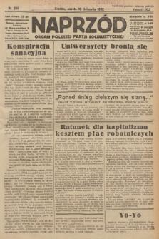 Naprzód : organ Polskiej Partji Socjalistycznej. 1932, nr265