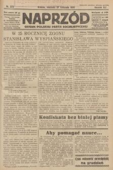 Naprzód : organ Polskiej Partji Socjalistycznej. 1932, nr272