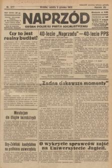 Naprzód : organ Polskiej Partji Socjalistycznej. 1932, nr277