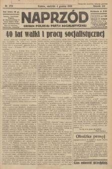 Naprzód : organ Polskiej Partji Socjalistycznej. 1932, nr278