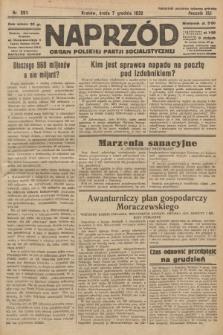 Naprzód : organ Polskiej Partji Socjalistycznej. 1932, nr280