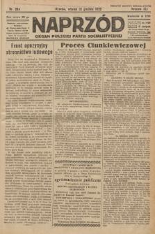 Naprzód : organ Polskiej Partji Socjalistycznej. 1932, nr284