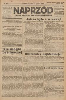Naprzód : organ Polskiej Partji Socjalistycznej. 1932, nr286