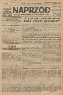 Naprzód : organ Polskiej Partji Socjalistycznej. 1932, nr288