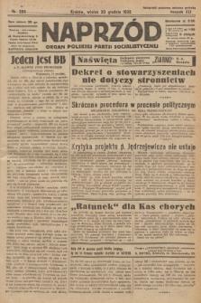 Naprzód : organ Polskiej Partji Socjalistycznej. 1932, nr290
