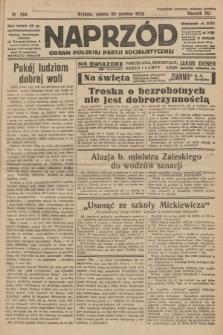 Naprzód : organ Polskiej Partji Socjalistycznej. 1932, nr294