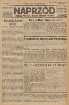 Naprzód : organ Polskiej Partji Socjalistycznej. 1932, nr297