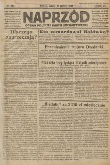 Naprzód : organ Polskiej Partji Socjalistycznej. 1932, nr298