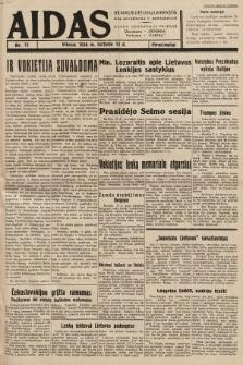 """Aidas : vilniaus lietuvių laikraštis eina antradieniais ir penktadieniais : duoda nemokamus priedus ūkininkams-""""ūkininką, Vaikams-""""Varpelį. 1938, nr13"""