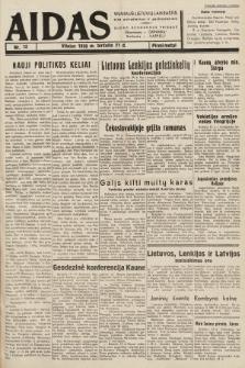 """Aidas : vilniaus lietuvių laikraštis eina antradieniais ir penktadieniais : duoda nemokamus priedus ūkininkams-""""ūkininką, Vaikams-""""Varpelį. 1938, nr15"""