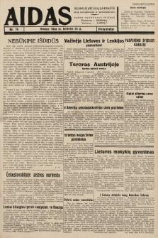 """Aidas : vilniaus lietuvių laikraštis eina antradieniais ir penktadieniais : duoda nemokamus priedus ūkininkams-""""ūkininką, Vaikams-""""Varpelį. 1938, nr16"""