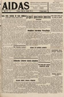"""Aidas : vilniaus lietuvių laikraštis eina antradieniais ir penktadieniais : duoda nemokamus priedus ūkininkams-""""ūkininką, Vaikams-""""Varpelį. 1938, nr24"""