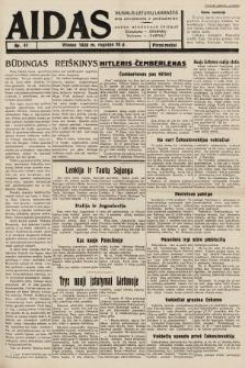 """Aidas : vilniaus lietuvių laikraštis eina antradieniais ir penktadieniais : duoda nemokamus priedus ūkininkams-""""ūkininką, Vaikams-""""Varpelį. 1938, nr41"""