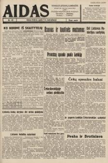 """Aidas : vilniaus lietuvių laikraštis eina tris kartus savaitėje : duoda nemokamus priedus ūkininkams-""""ūkininką"""", Vaikams-""""Varpelį"""". 1938, nr48"""