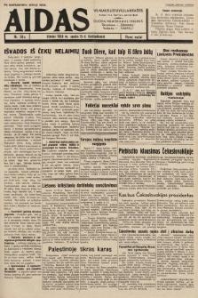 """Aidas : vilniaus lietuvių laikraštis eina tris kartus savaitėje : duoda nemokamus priedus ūkininkams-""""ūkininką"""", Vaikams-""""Varpelį"""". 1938, nr50"""