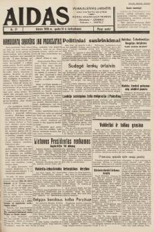 """Aidas : vilniaus lietuvių laikraštis eina tris kartus savaitėje : duoda nemokamus priedus ūkininkams-""""ūkininką"""", Vaikams-""""Varpelį"""". 1938, nr51"""