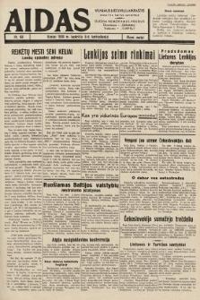 """Aidas : vilniaus lietuvių laikraštis eina tris kartus savaitėje : duoda nemokamus priedus ūkininkams-""""ūkininką"""", Vaikams-""""Varpelį"""". 1938, nr60"""