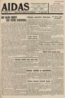 """Aidas : vilniaus lietuvių laikraštis eina tris kartus savaitėje : duoda nemokamus priedus ūkininkams-""""ūkininką"""", Vaikams-""""Varpelį"""". 1938, nr66"""