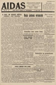 """Aidas : vilniaus lietuvių laikraštis eina tris kartus savaitėje : duoda nemokamus priedus ūkininkams-""""ūkininką"""", Vaikams-""""Varpelį"""". 1938, nr73"""