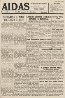 """Aidas : vilniaus lietuvių laikraštis eina tris kartus savaitėje : duoda nemokamus priedus ūkininkams-""""ūkininką"""", Vaikams-""""Varpelį"""". 1938, nr78"""
